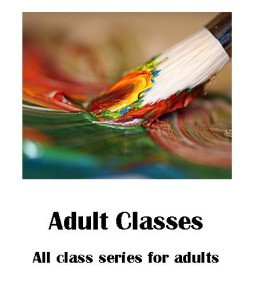 website graphic for adult classes