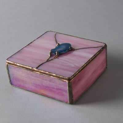 Stain Glass Box by John Matz
