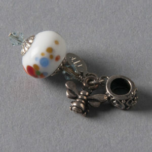 Bead Charm by Into The Fire Lampwork Art Beads