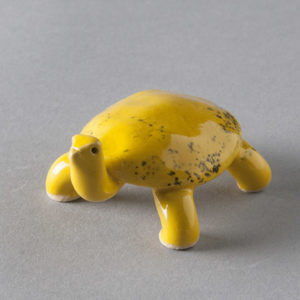 Yellow Turtle by Carol McDonough