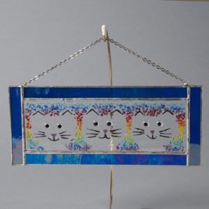 Triple Cat Hang by Lawrence and Audrey Goldsmith