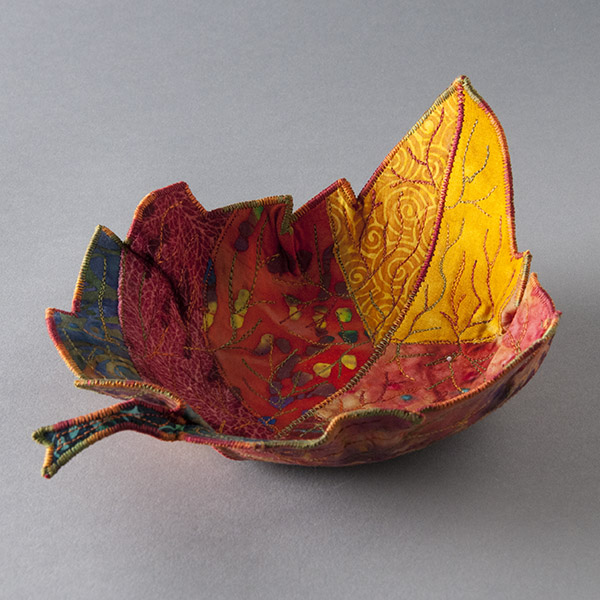 Leaf Fabric Bowl by Green Terra Totes