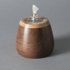 Wood Votive Candle by Robert Fry