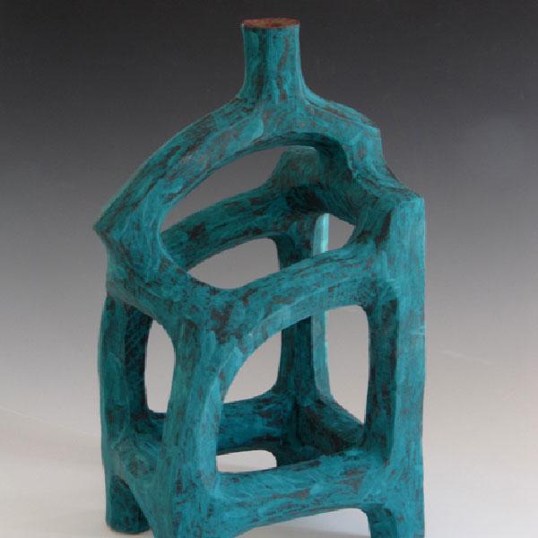 Blue Bottle by Robert Bruch