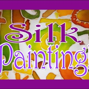silk painting graphic