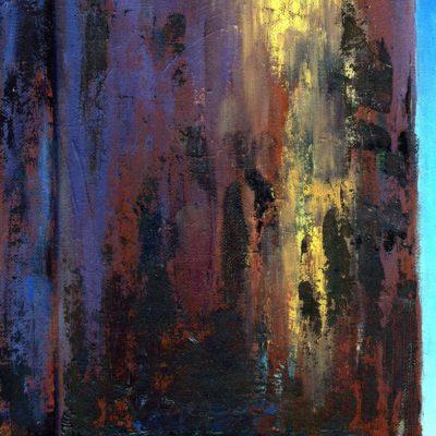 SUN TANK oil sketch
