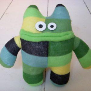 green-sock-monster