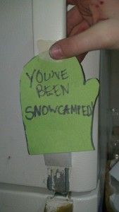 youve been snow camped
