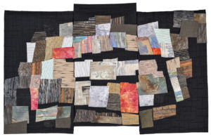 Art Quilt - 2014, 36x58 inches