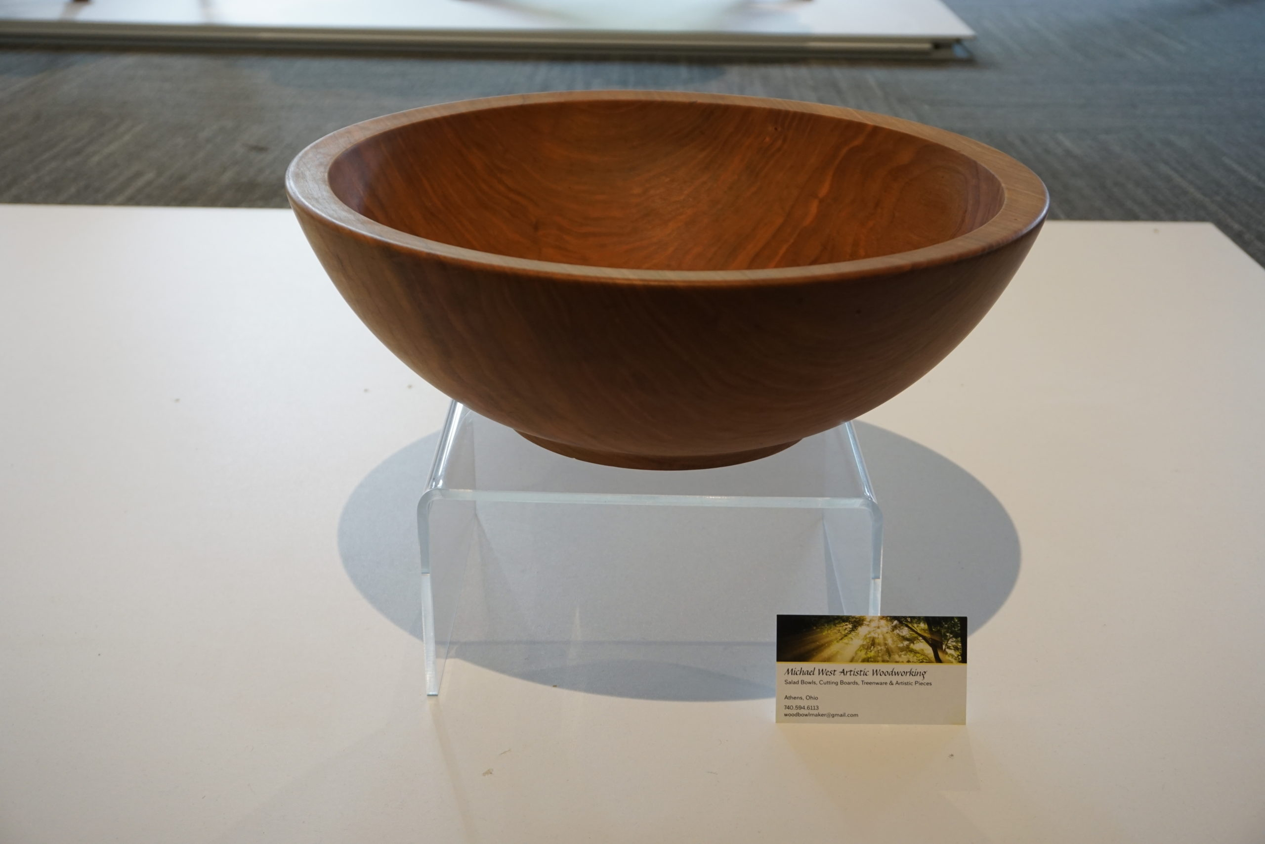 Crafted Wooden Bowl